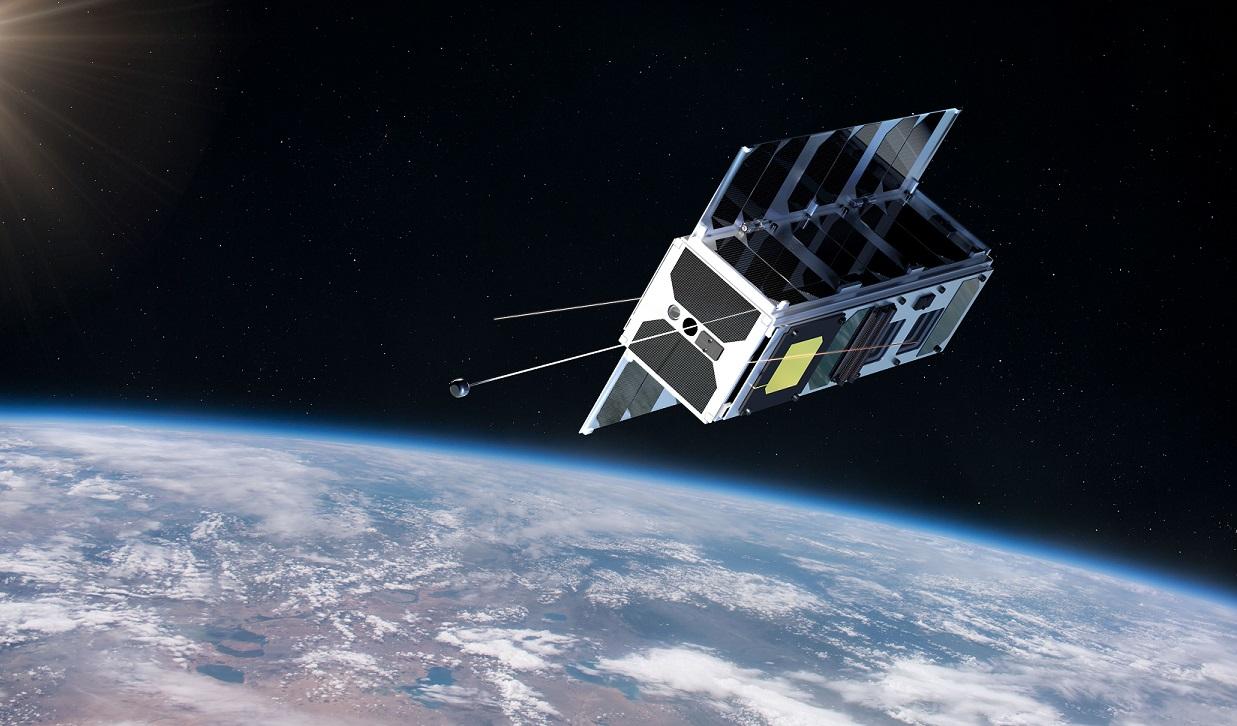 Макет спутника ESTCube-2