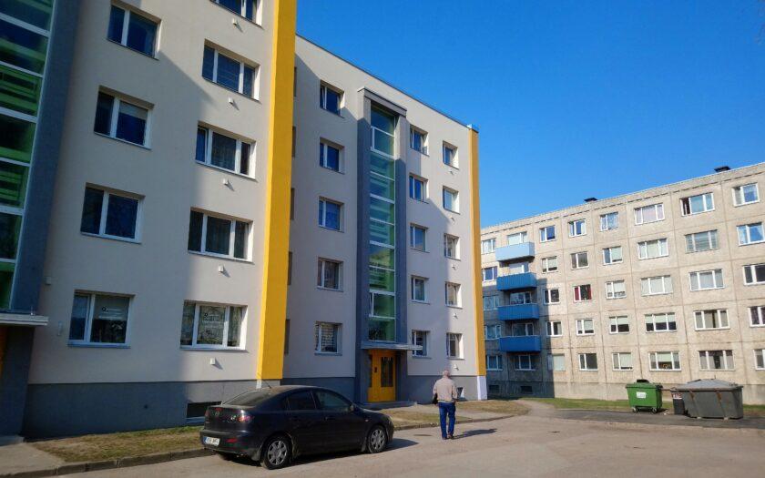 Фото: Дмитрий Коган. Многоэтажные дома после ремонта и до